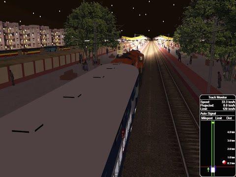 19310/Shanti Express - Vadodara to Gandhinagar  From Indore Jn    IR MSTS In Open Rail