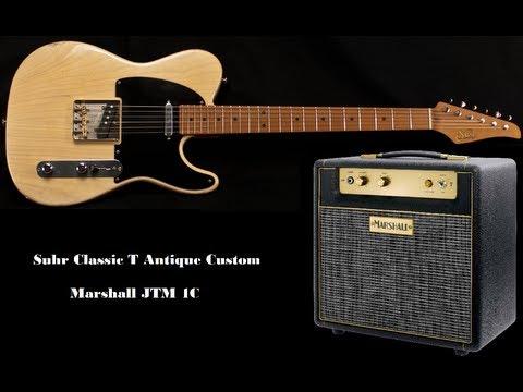 Late Night Blues - Suhr Classic T Antique Custom / Marshall JTM1C