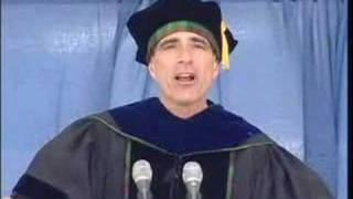 Randy Pausch Inspires Graduates thumbnail