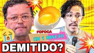 🔥 Fernando Rocha APRESENTADOR do Bem Estar é DEMITIDO + Jean Wyllys  quase Leva OVADA