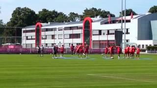 Bayern Training: Movement Preps 1