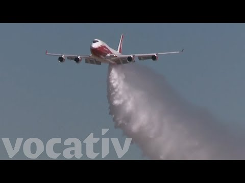 The World's Largest Firefighting Airplane Is Fighting California's Wildfires