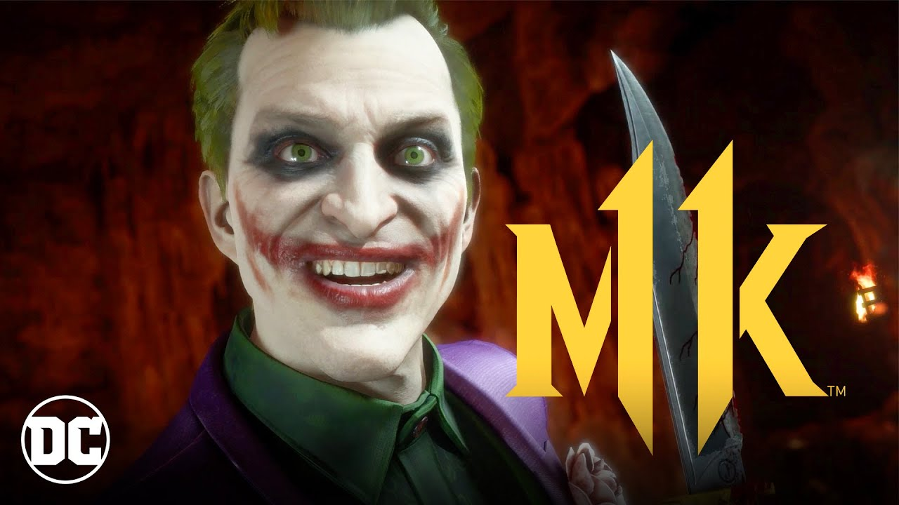 Mortal Kombat 11 Kombat Pack | The Joker Official Gameplay Trailer