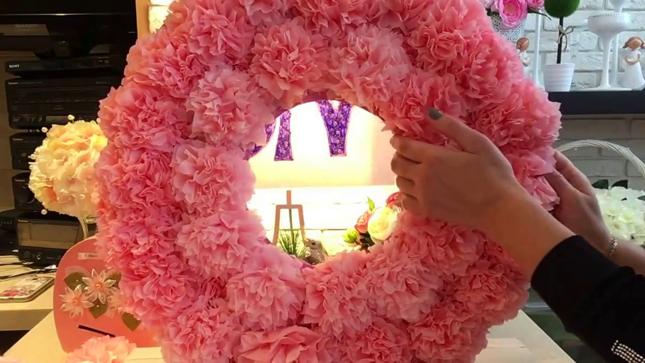цветы из салфеток. фото