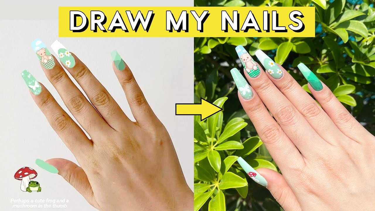Recreating my subscriber's nail designs! 💅🏻