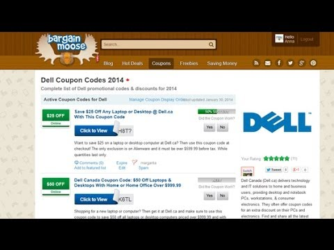 Dell Coupon Codes: How To Find & Use Dell Canada Coupons