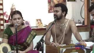 Kadayanallur Rajagopal Bhagavathar - Sampradhaya Bhajans (9/20/2013)  VVGC  San Jose
