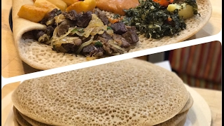 Authentic Ethiopian Injera | Cooking With Mali