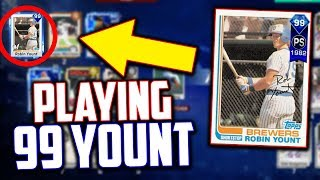 HE HAS THE NEW 99 ROBIN YOUNT CARD! MLB The Show 17 | Battle Royale