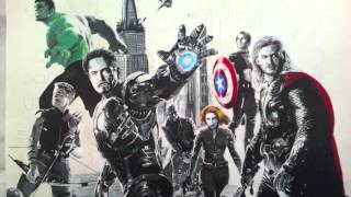 The Avengers - speed painting step by step