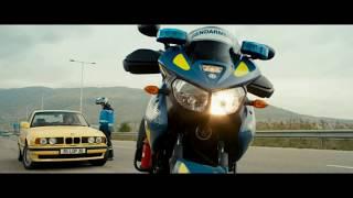 ПСИХ за рулём BMW E34   ЖЕСТОКАЯ ПОГОНЯ БЕЗ ТОРМОЗОВ