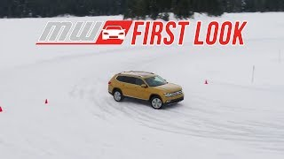 Volkswagen 4Motion Winter Driving | First Drive