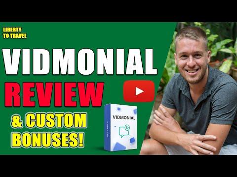 Vidmonial Review - 🛑 STOP 🛑 Get Vidmonial With MY Custom Bonuses! 😂