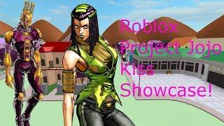 Roblox Project Jojo Kiss Showcase!