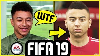 FIFA 19 FACES - FOOTBALLERS ANGRY WITH THEIR PLAYER FACE