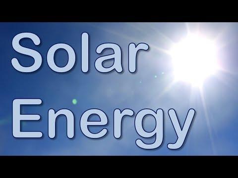 Solar Energy: Presentation
