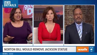 Sad racist CBS News anchors Allison Seymour,  Tony Perkins  & Annie Yu want statues of white removed