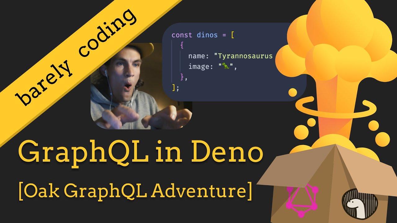 Build a GraphQL server in Deno using Oak - [Getting started tutorial]