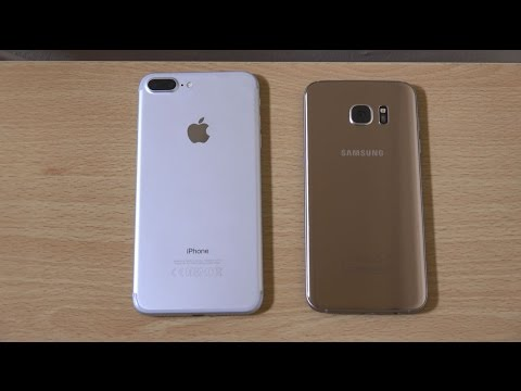 IPHONE 7 PLUS VS GALAXY S7