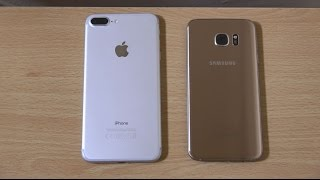 iPhone 7 Plus vs Samsung Galaxy S7 Edge - Speed Test!
