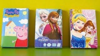 Frozen, Peppa Pig and Disney Princess Playing Cards - Juegos de Cartas