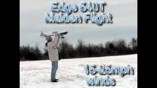 Демонстрация авиамодели Edge 540T(Демонстрация авиамодели Edge 540T от магазина