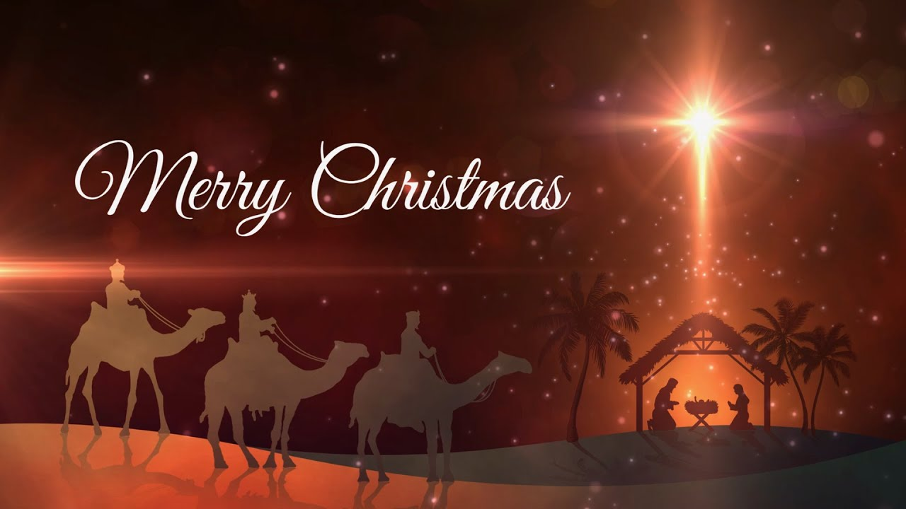 merry christmas animation motion graphics loop youtube - Merry Christmas Animated Graphics