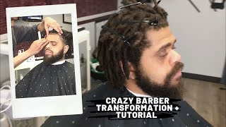 Craziest barber transformation of 2020 plus tutorial