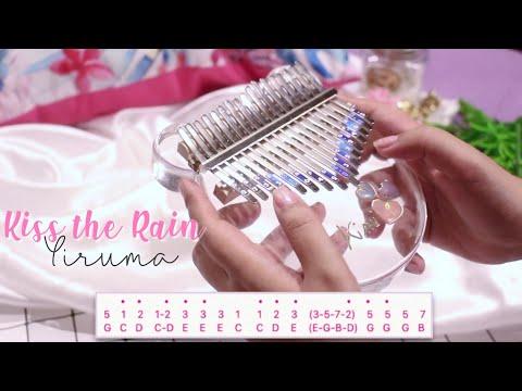 Yiruma - Kiss The Rain | Kalimba Cover With TABS ♡