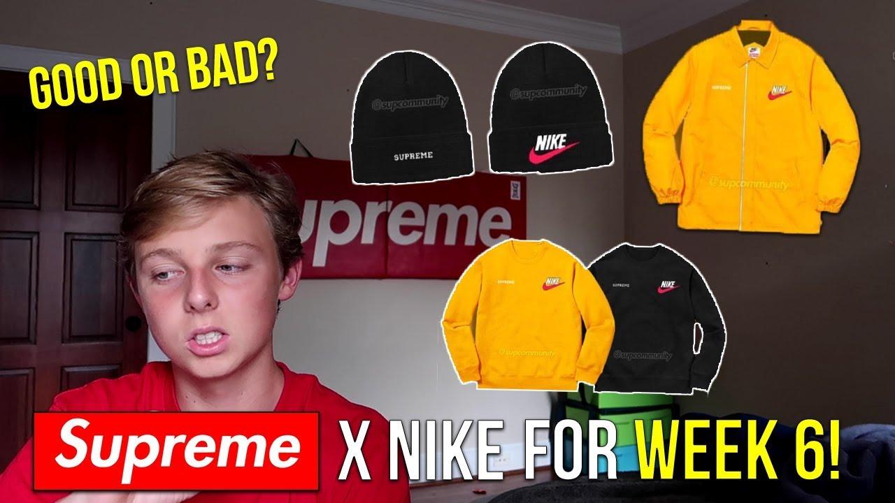 0e177443 Supreme x Nike Dropping For Supreme FW18 Week 6! - YouTube
