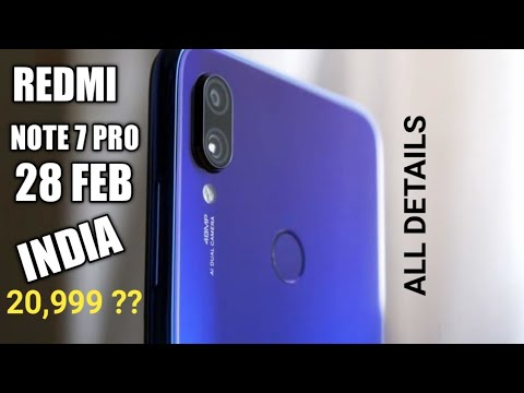 #redminote7pro Redmi Note 7 Pro : India Launch Date, Price, Specifications & Features