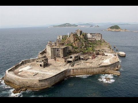 Exploring Abandoned CITY Gunkanjima BATTLESHIP ISLAND Reaction