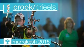 #FanStream: Dahlia Crook v Sarah Prieels – Compound Women's Bronze Final | Marrakesh 2015