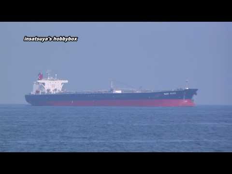 川崎汽船 RUBY RIVER タンカー 堺泉北港 Aframax Tanker Crude Oil Tanker