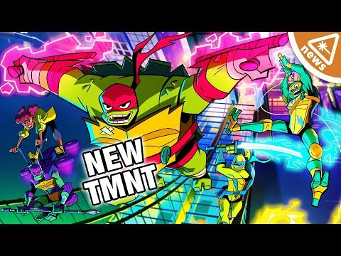 Why the First Look at the New Ninja Turtles Has Fans Upset! (Nerdist News w/ Jessica Chobot)