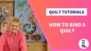 Quilt Binding Tutorial with Deb Luttrell of Stitchin' Heaven