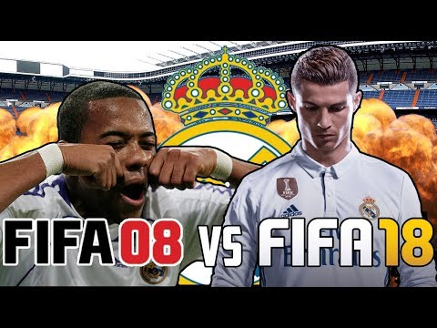 Real Madrid FIFA 08 vs Real Madrid FIFA 18 - TWO Flops Make It In!