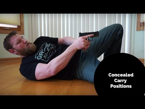 Concealed Carry Positions, Where To Carry And Why | Geauga Firearms Academy