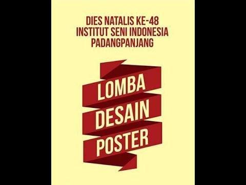 Lomba Desain Poster Dies Natalis ke-48 ISI Padang Panjang ...
