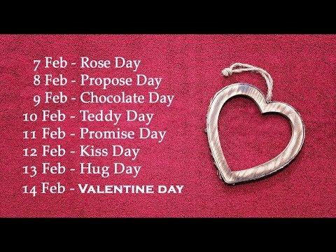 Valentine's Week | Whatsapp Status Video (2018)