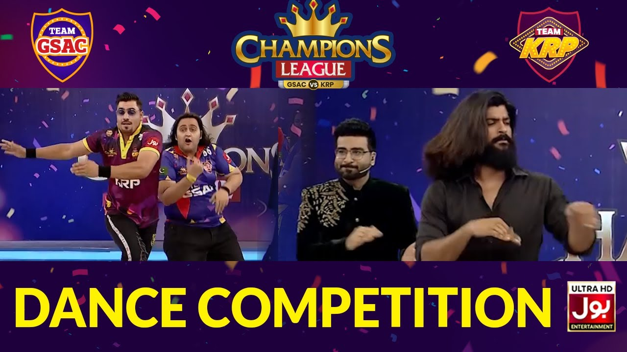 Dancing Competition In Champions League | Game Show Aisay Chalay Ga vs Khush Raho Pakistan