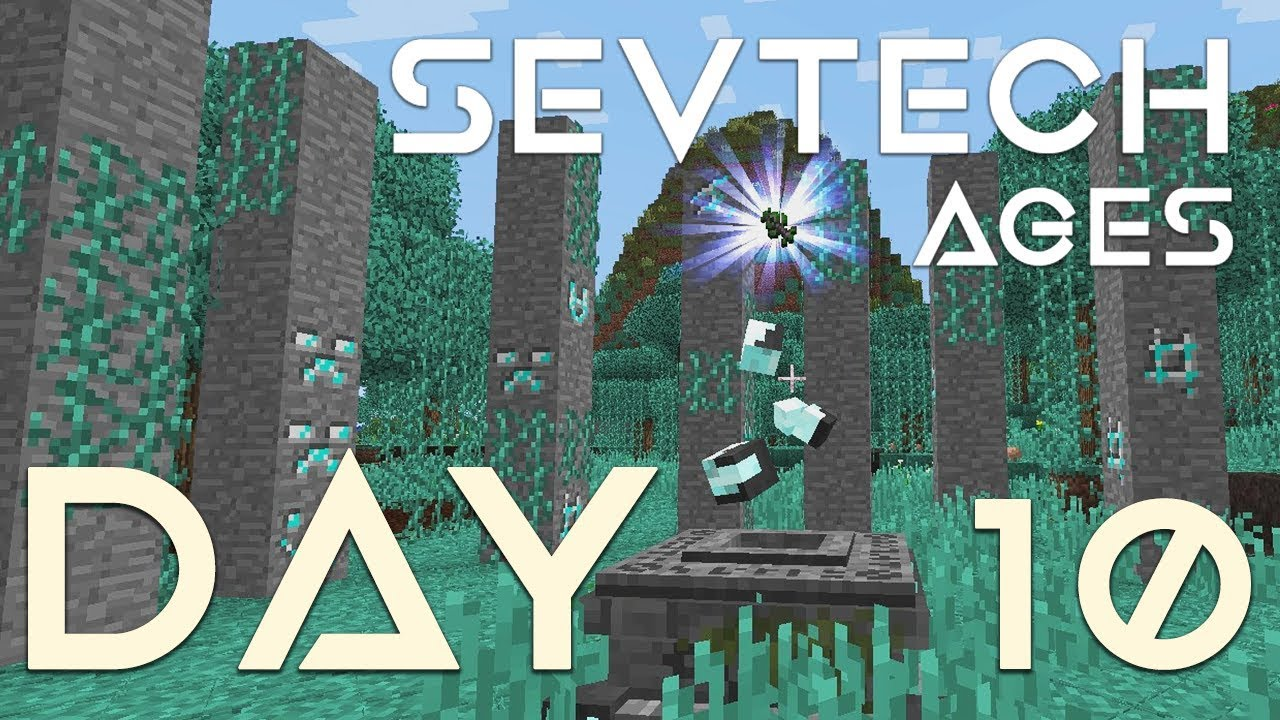 SevTech: Ages - EP 10 | Finding rock crystal ore & Visiting The  Betweenlands by IterationFunk