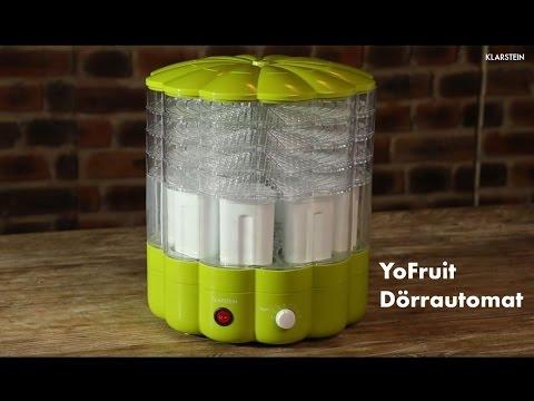 Yofruit Dörrautomat Youtube
