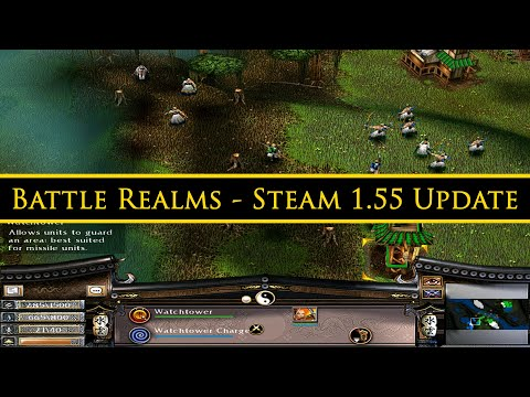 Battle Realms: Zen Edition - Steam 1.55 Update & 1st Stable Multiplayer Match. :D
