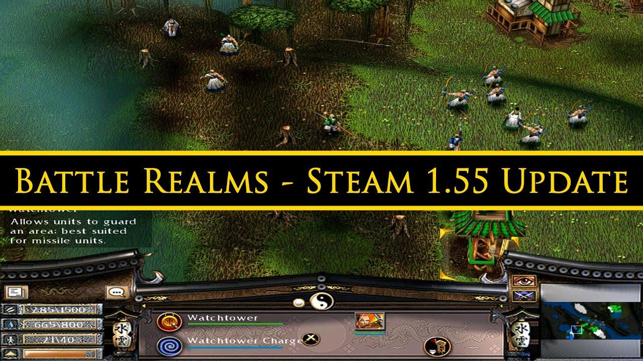 Battle Realms Zen Edition Steam 1 55 Update 1st Stable