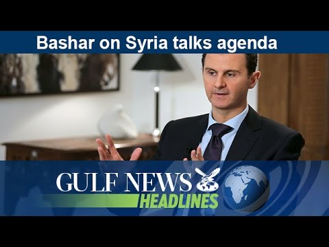 Bashar Al Assad on Syria talks agenda - GN Headlines