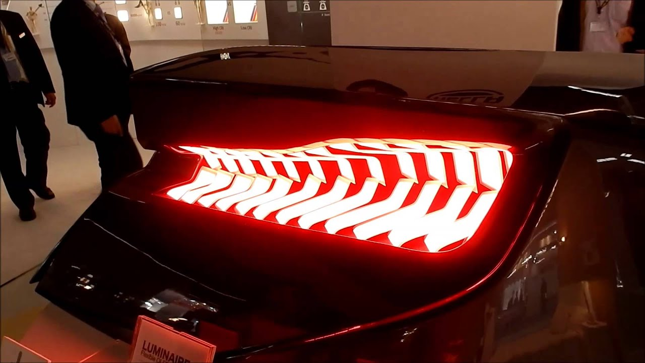 Lg Chem Flexible Oled For Cars Bmw At Light And Building