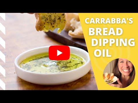 Carrabba S Bread Dipping Oil Recipe Copycat Video The