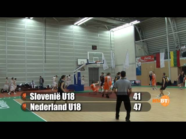 Nationaal Team U18 VS Slovenië (april 2010)