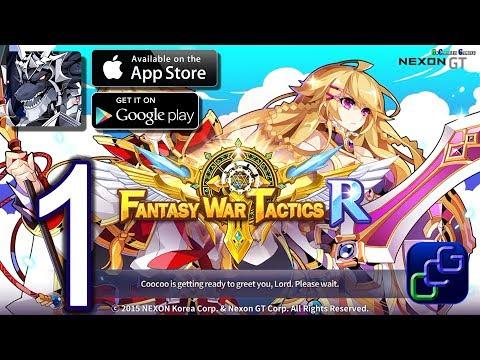 Fantasy War Tactics R Android iOS Gameplay - Walkthrough Part 1 - Prologue